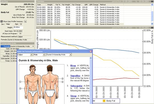 Composition Tracker Body Fat Tracking Software 87